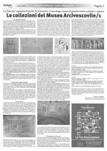 3 LA SALA DEL LAPIDARIO DEL MUSEO ARCIVESCOVILE DI RAVENNA